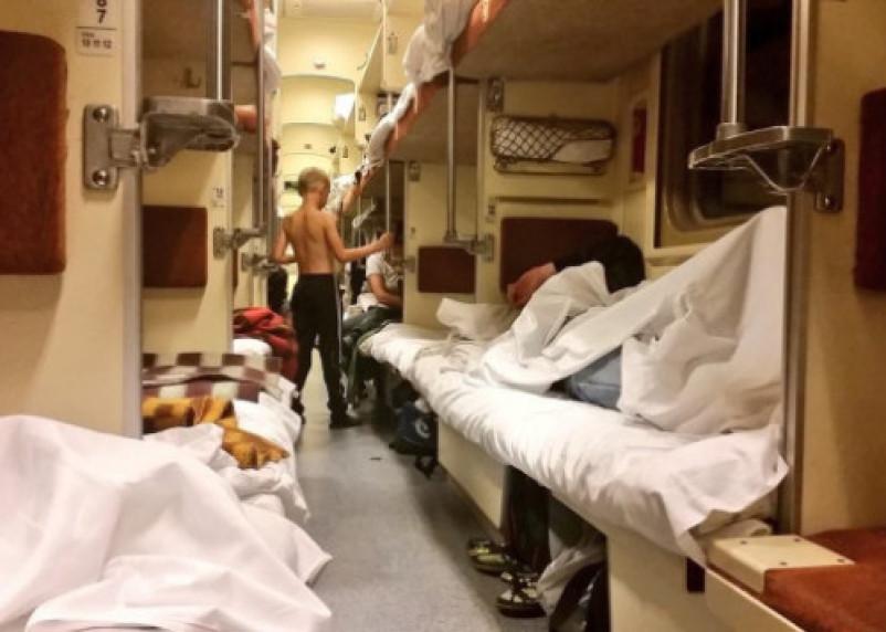 На РЖД завели дело за задыхающихся пассажиров в поезде «Адлер-Смоленск»