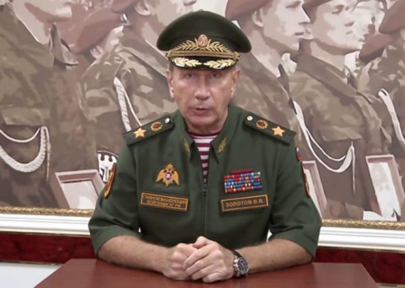 Глава Росгвардии вызывал Навального на дуэль, пообещав сделать из него «сочную отбивную»