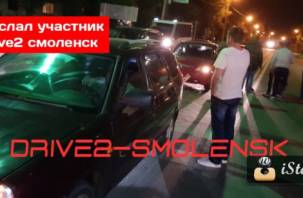 Шумахер был пьян: на перекрестке «трех дорог» в Смоленске произошло серьезное ДТП