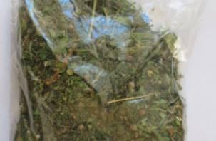 Смолянина поймали с пакетом марихуаны