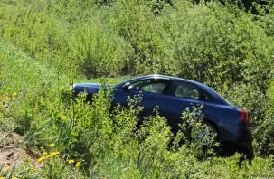 В Смоленской области две машины вылетели с трассы в кювет