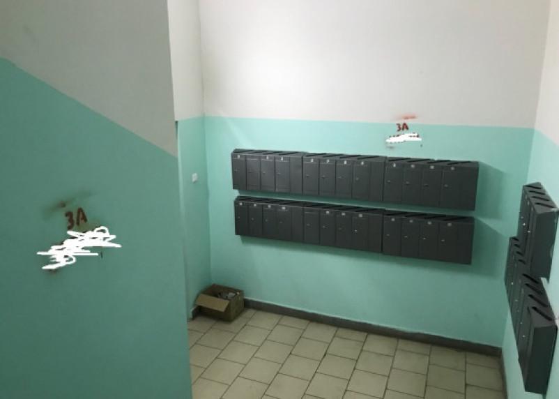 В Смоленске неизвестные изрисовали «агитацией» подъезды жилых домов