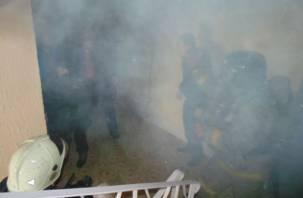 Под Смоленском школа едва не загорелась из-за короткого замыкания
