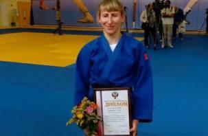 Смоленская дзюдоистка – среди победителей Кубка мира по дзюдо среди слабовидящих