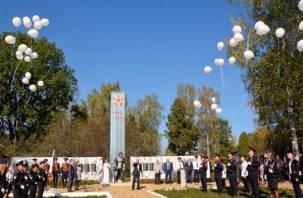 Смоленские полицейские восстановили памятник героям Великой Отечественной войны