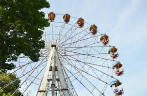 Уже завтра в Смоленске заработает новое колесо обозрения