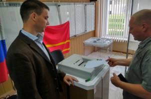 Стала известна явка на выборах в Смоленскую областную Думу к полудню