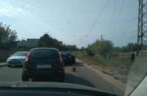В Смоленске затруднен проезд в сторону Королевки и Ситников