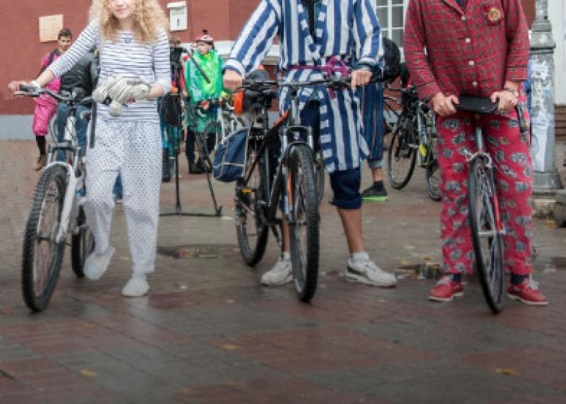 По Смоленску будут ходить люди в пижамах