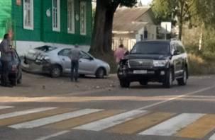 В Смоленской области произошло жесткое ДТП возле детского сада