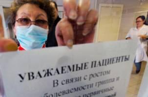 Эпидемия на пороге? Смоленская область запасается вакцинами от гриппа