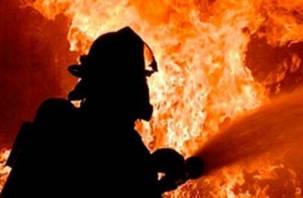 В Сафонове ночью случился крупный пожар