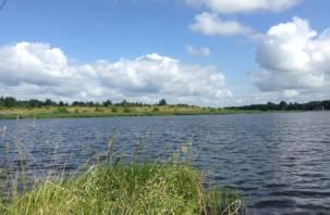Уровень воды в смоленских озёрах стал ниже