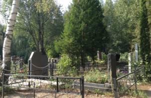 Сожжены кресты. Смолянка разгромила кладбище в поселке Миловидово