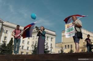 Смоленскую пенсионерку отправили подметать улицы за участие в акции против пенсионной реформы