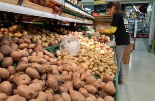 В популярных супермаркетах, которые есть и в Смоленске, нашли зараженную картошку