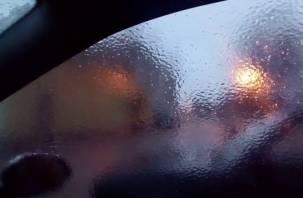 Смоленск подморозило: «машина коркой ледяной покрылась»