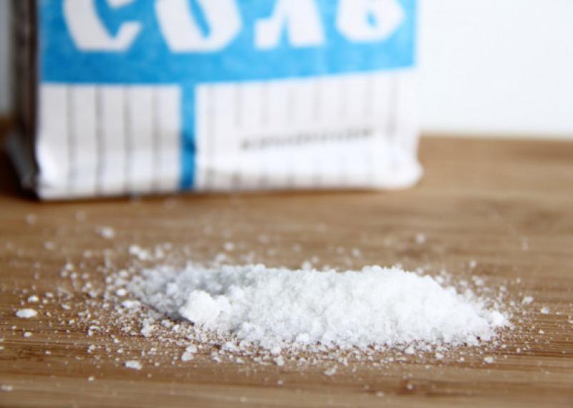 В российских магазинах исчезнет поваренная соль