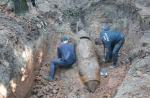 В Смоленской области найдены 42 боеприпаса времен Великой Отечественной войны