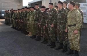 Смоленский СОБР и ОМОН выполнили боевые задачи на Кавказе