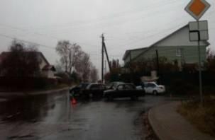 В Смоленской области произошла тройная авария с пострадавшим