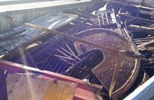 Житель Полоцка пытался вывезти в Россию 20 тонн металла с липовыми «смоленскими» документами