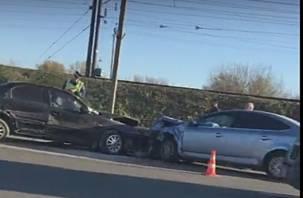 Подробности массовой аварии на Московском шоссе в Смоленске