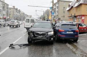 Подробности страшного тройного ДТП на Кирова в Смоленске