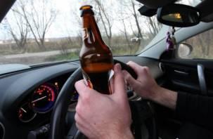 Смоленские автоинспекторы задержали водителя «под градусом»