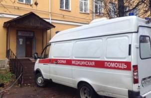 В Сычёвском районе мотоциклист влетел под УАЗ и был госпитализирован