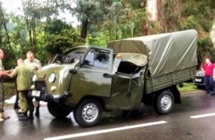 Нелепая смерть в военном УАЗе. В Абхазии погиб пограничник из Рославля