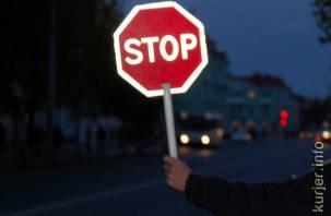 «Любитель» ПДД попался в Смоленском районе на краже дорожных знаков