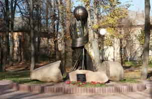 В Смоленской области открыли памятник подвижникам спорта