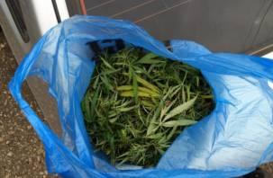 Нашел в лесу: у смолянина изъяли почти килограмм марихуаны