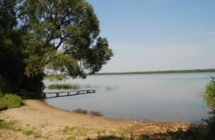Наглый смолянин построил дом и причал на берегу Акатовского озера. Заставили снести