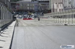 Смоленский мэр пообещал, что завтра будет открыто движение по Беляевскому путепроводу