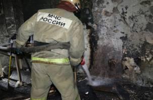 В Смоленске из горящей многоэтажки эвакуировали жильцов