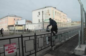В Смоленске решено оставить пешеходный переход под Беляевским путепроводом