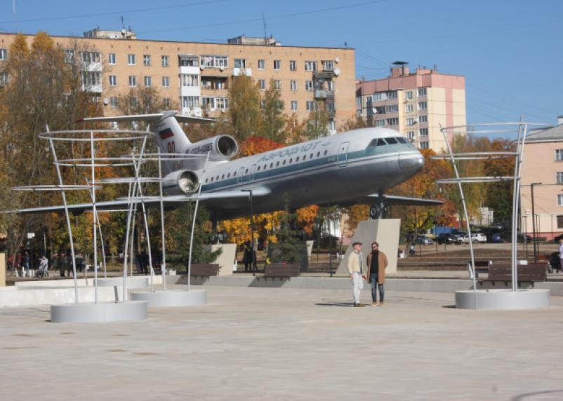 В Смоленске состоялось открытие сквера «Крылатые земляки»