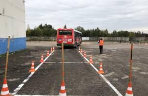 В Смоленске выбрали лучших водителей автобусов