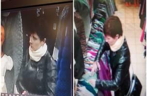 Крадет вещи в магазине: в Рославле ищут воровку
