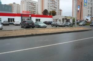 В Смоленске активисты добиваются строительства тротуаров после ремонта дорог