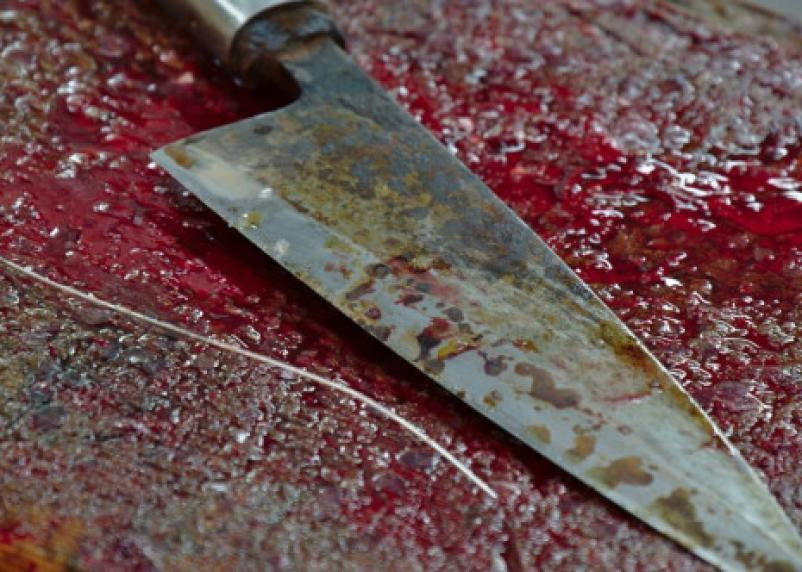 Житель Велижа ударил жену чайником по голове. В ответ получил удар ножом в сердце