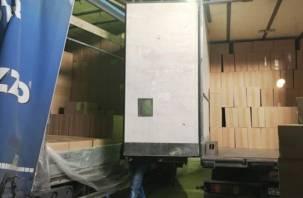 Через Смоленщину провезли 20 тонн контрафактных сигарет из Белоруссии