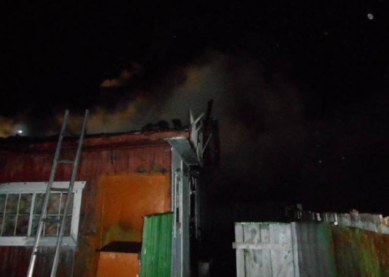 В Смоленской области женщина погибла в горящей даче