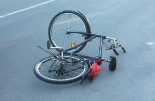 Ребенка на велосипеде сбили в микрорайоне Сортировка