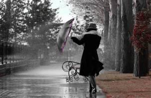 3 мая в Смоленской области ожидаются дожди и сильный ветер