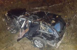 Подробности смертельного ДТП в Смоленском районе. Погибли два человека