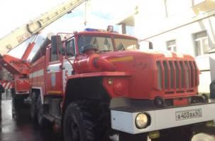 В Смоленске сгорел ВАЗ