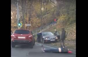 Появилось видео страшной аварии на улице Дзержинского